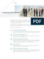 Linkedin Talent Pipeline Tipsheet