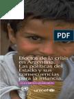 Efectos Crisis en Argentina - Documento de Difusion