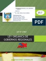 TITULO II ORGANIZACIÓN DE LOS GOBIERNOS REGIONALES.pptx