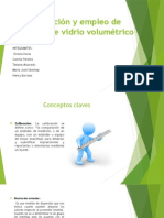 Calibración y Empleo de Material de Vidrio Volumétrico.