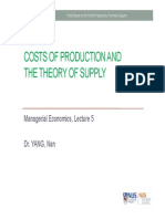 BSP1005 Lecture 4 - Costs and Competitive Supply