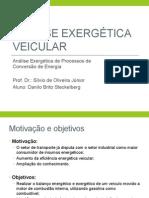 Análise Exergética Veicular