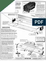Walthers 7845 Modernized Combine Kit