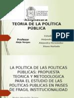 La Politica de Las Politicas
