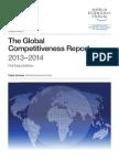 WEF GlobalCompetitivenessReport 2013-14