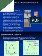 Analisis Del Ctamto  de Ubo de Vacio Para El Calentamiento de Agua