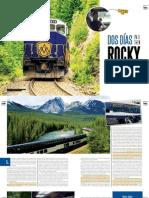 Dos días en el tren Rocky Mountaineer