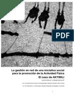 La gestión en red de una iniciativa social para la promoción de la Actividad Física