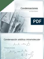 Aldehídos y cetonas condensaciones.