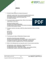 PMP 50 Questions