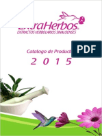Catálogo Extraherbos 2015