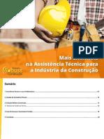 eBook Mais Eficiencia Na Assistencia Tecnica Para a Industria Da Construcao
