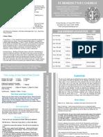 Newsletter 88 11:12th April 2015