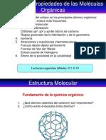 Estructura y Propiedad de Molécula