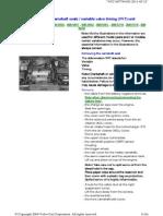 2000 XC70 VVT Replacement Procedure