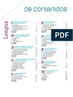 Programa Lengua 2bach Indice