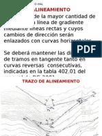 Alineamiento Curvas Horiz Replanteo 2015