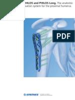 Fijación prótesis humeral