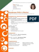 Exemple CV Design Orange