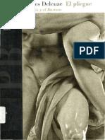 DELEUZE, Gilles (1988) - El pliegue. Leibniz y el Barroco (Paidós, Barcelona_Buenos Aires_México, 1989-1998)