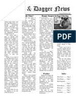 Pilcrow and Dagger Sunday News 4-12-2015