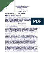 299. Padillo v. Apas, G.R. No. 156615, April 10, 2006