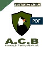 Curso Básico de Bushcraft - Caatinga Bushcratf