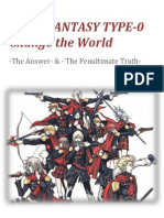 Final Fantasy Type 0 Novel