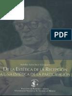 SANCHEZ VAZQUEZ, DE LA ESTÉTICA DE LA RECEPCIÓN A UNA ESTÉTICA DE LA PARTICIPACIÓN, 2005