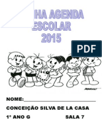 Modelo Para Agenda e Caderno de Leitura