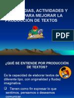 Producción de Textos. Power Point
