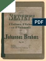 Brahms - Sextet No. 1