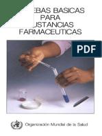 Pruebas Básicas Para Sustancias Farmaceuticas
