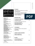 Burgos German - El Banco Mundial y La Polítización de Su Mandato. Análisis Político N. 59