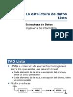 tema4(Estructura de Datos Lista)