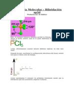 Geometria Molecular e Hibridaciones Estado Basal, Excitado