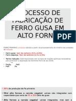 REVISÃO ALTO FORNO.pptx