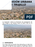 Expansión Urbana de Trujillo