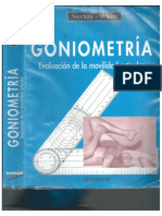 Goniometria de codo. Norkin