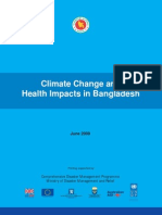 Climate Change and Health Impacts in Bangladesh - 2009