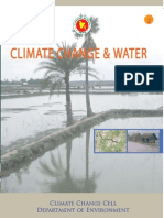 Climate Change and Water ( Booklet) -2009