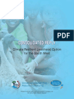 Climate Resilient Livelihood Option for the South West - Consolidated Reply - 2013