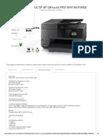 Impresora Multif Hp Officejet Pro 8610 Wi-fired