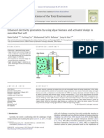 Enhanced electricity generation by using algae biomass and activated sludge in.pdf