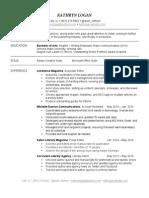 kathryn logan - resume