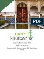Khutba - Green Khutbah April 242015_VER2
