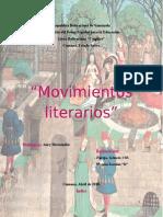 Movimientos Literarios!