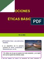 b. Nociones Éticas Básicas