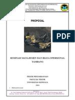 Proposal Seminar Manajemen Tambang (2)