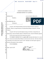Netflix, Inc. v. Blockbuster, Inc. - Document No. 184